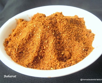 Baharat ~ A Spice Powder from Middle East