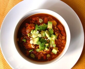 Meaty Vegan Chili
