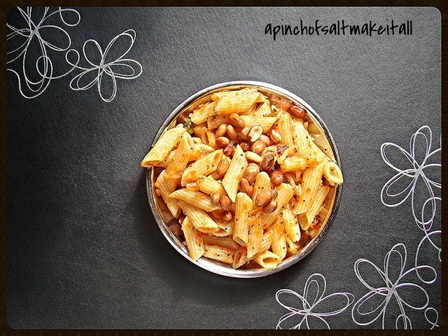 Kids Macaroni indian style