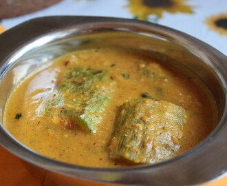Stuffed Snake Gourd Curry
