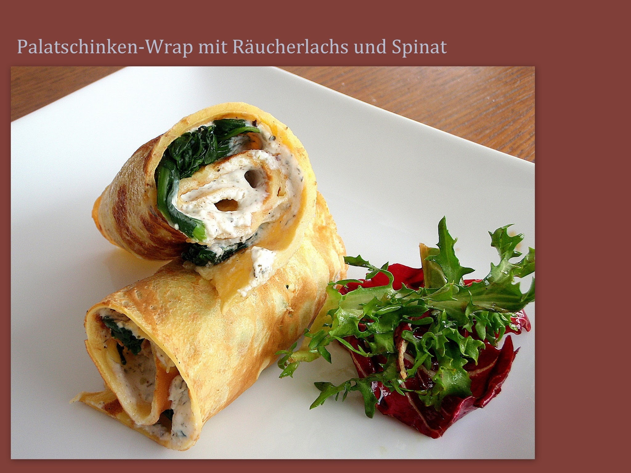 Lunch im Glas & Wrap