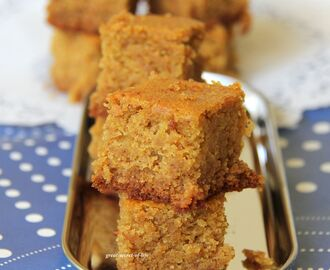 Wheat Cake with Jaggery (Eggless Wheat Cake)