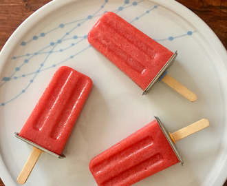 Raspberry Jelly Ice Blocks