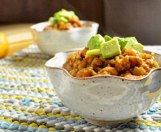 Recipe ReDux: Slow Cooker Pumpkin Chili