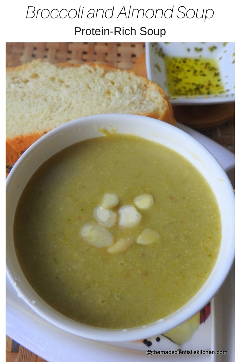 Protein-Rich Broccoli and Almond Soup Recipe