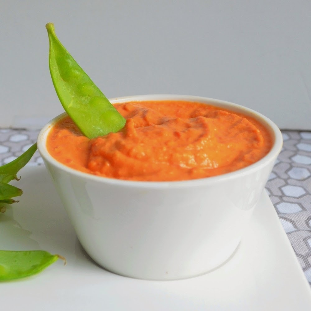 Red Roasted Pepper Hummus