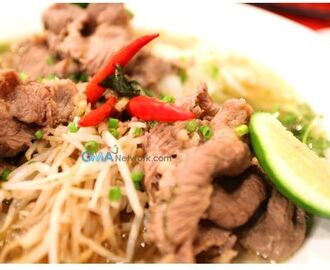 Recipe: Pho Beef Noodles