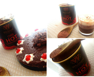 Eggless Chilli Chocolate Cake With Whittard Of Chelsea Chilli Hot Chocolate Powder