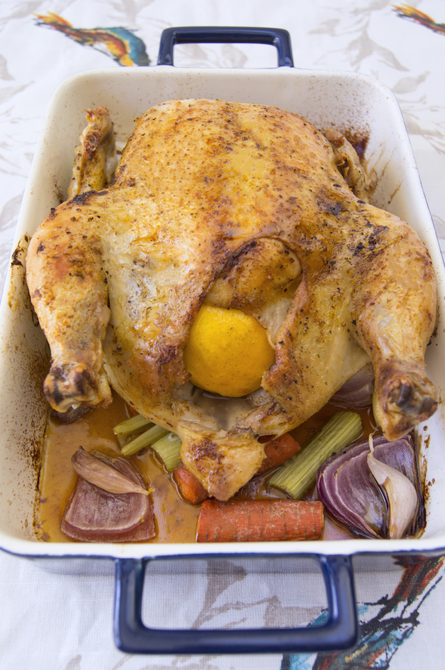Roasted Lemon Chicken