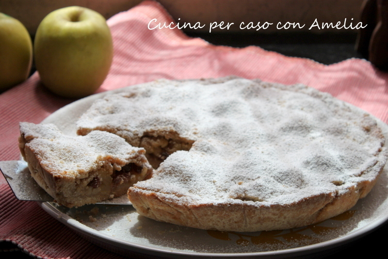 Apple pie vegan, ricetta