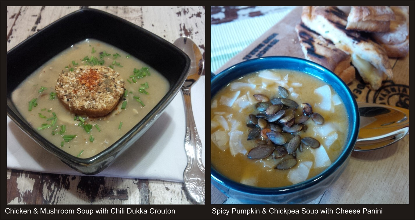 Two Favourite Soups for Winter