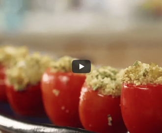 Quinoa Stuffed Tomatoes Recipe Video