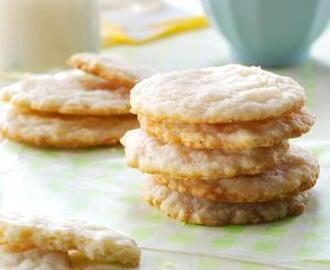 LEMON OATMEAL SUGAR COOKIES