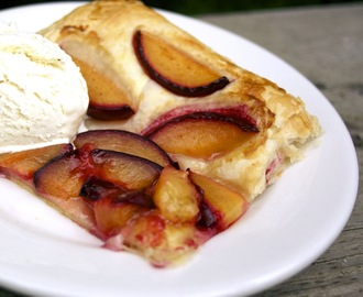 Spicy Honey Cinnamon Plum Tart  #Henry's Humdingers  #Foodie Friday
