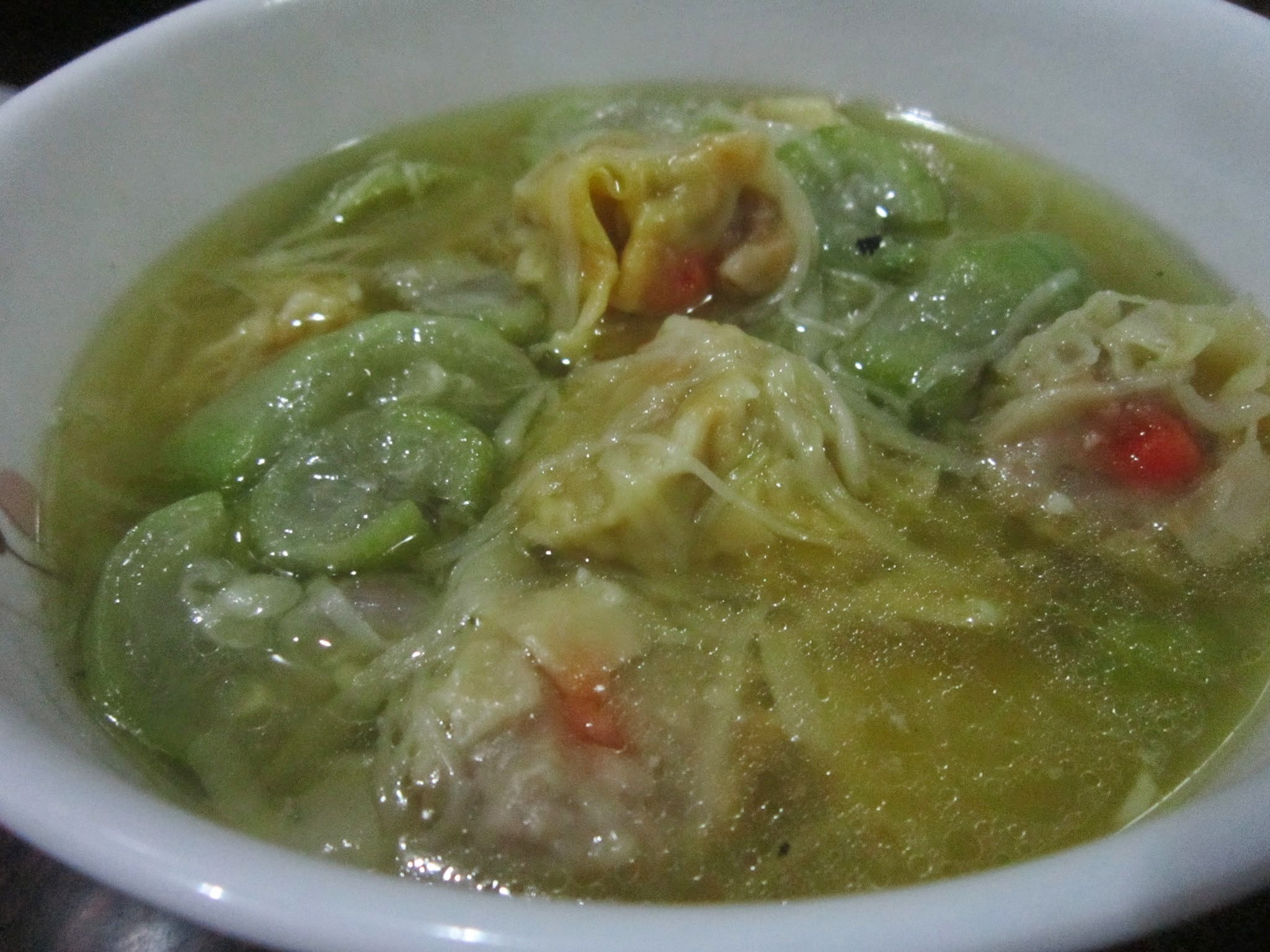 SIOMAI MISUA at PATOLA SOUP