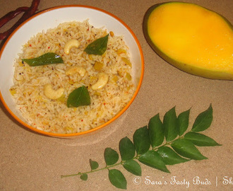 Spicy Mango Rice / Mangai Sadham