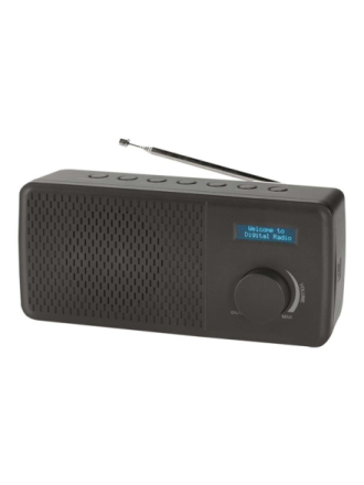 DAB portable radio DAB-41 - DAB portable radio - Svart