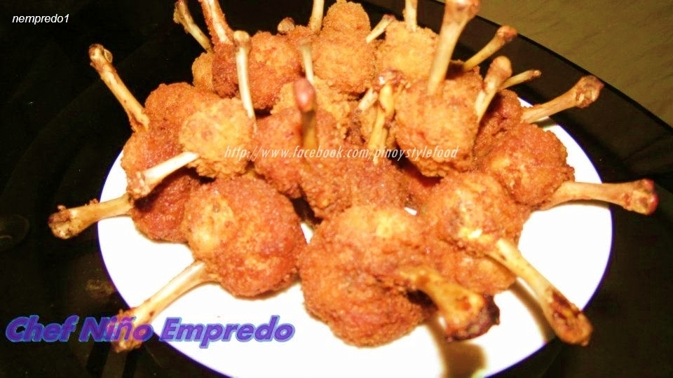 Pinoy Chicken Lollipop Recipe