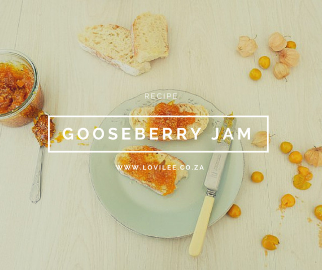 Gooseberry Jam Recipe
