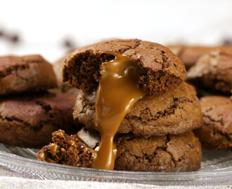 Dulce de Leche Chocolate CookiesDulce de Leche Chocolate Cookies
