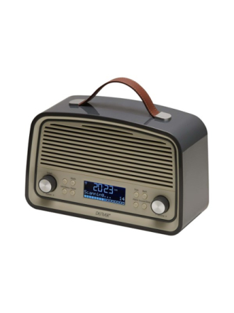 DAB portable radio DAB-38 - DAB portable radio - Grå