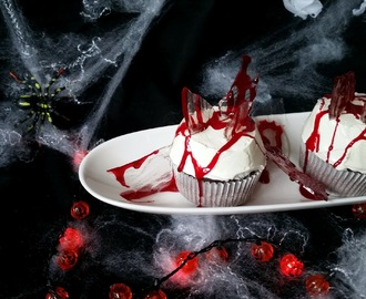 Bloody broken glass Cupcakes (Black Halloween Event 2015)