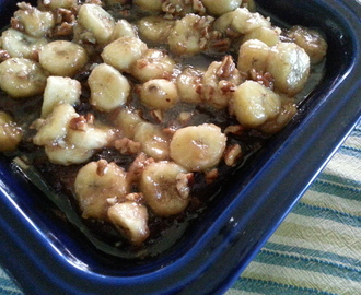 A Delicious Breakfast or Dessert…Bananas Foster Bread Pudding!