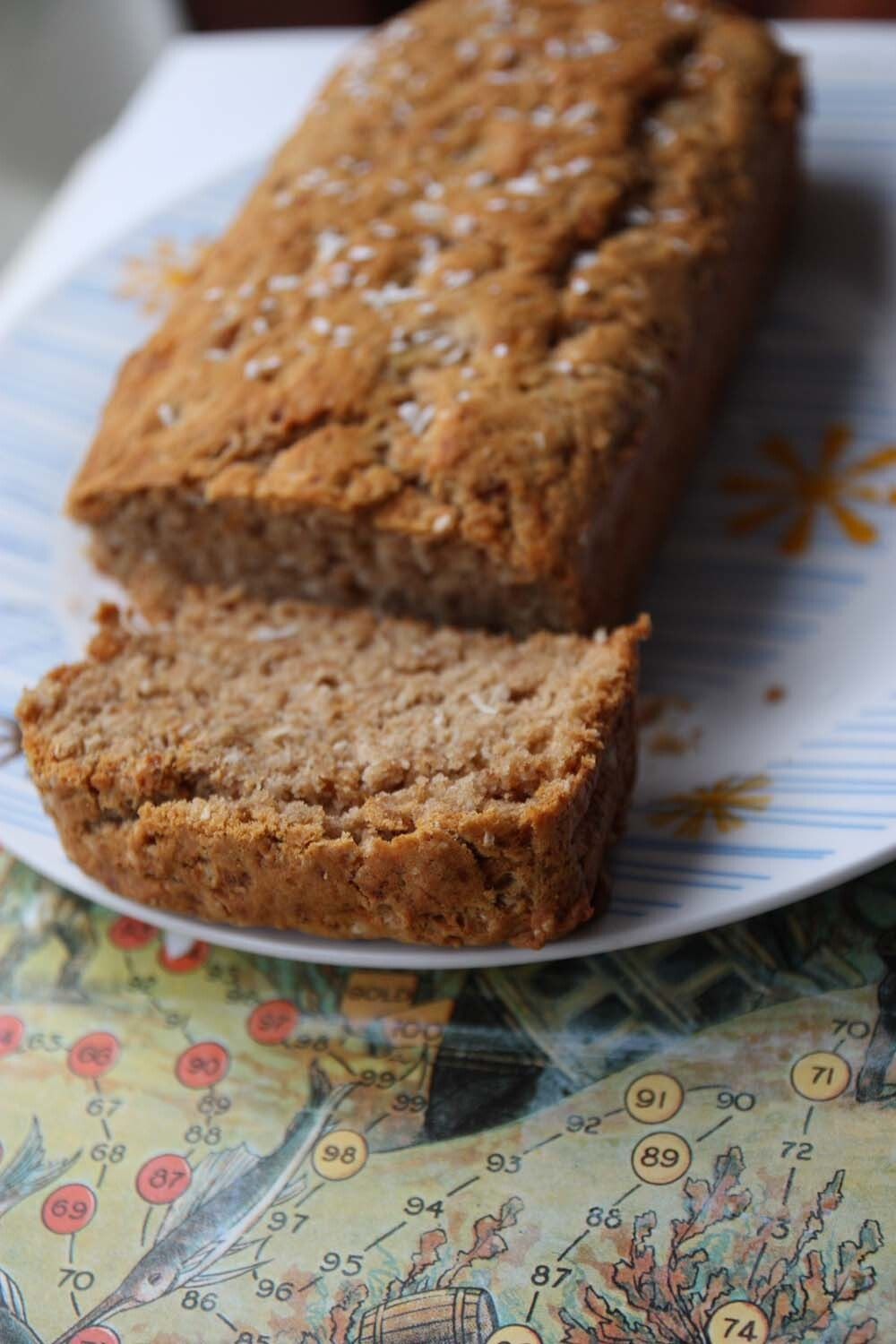 Banana and Coconut Bread (vegan)