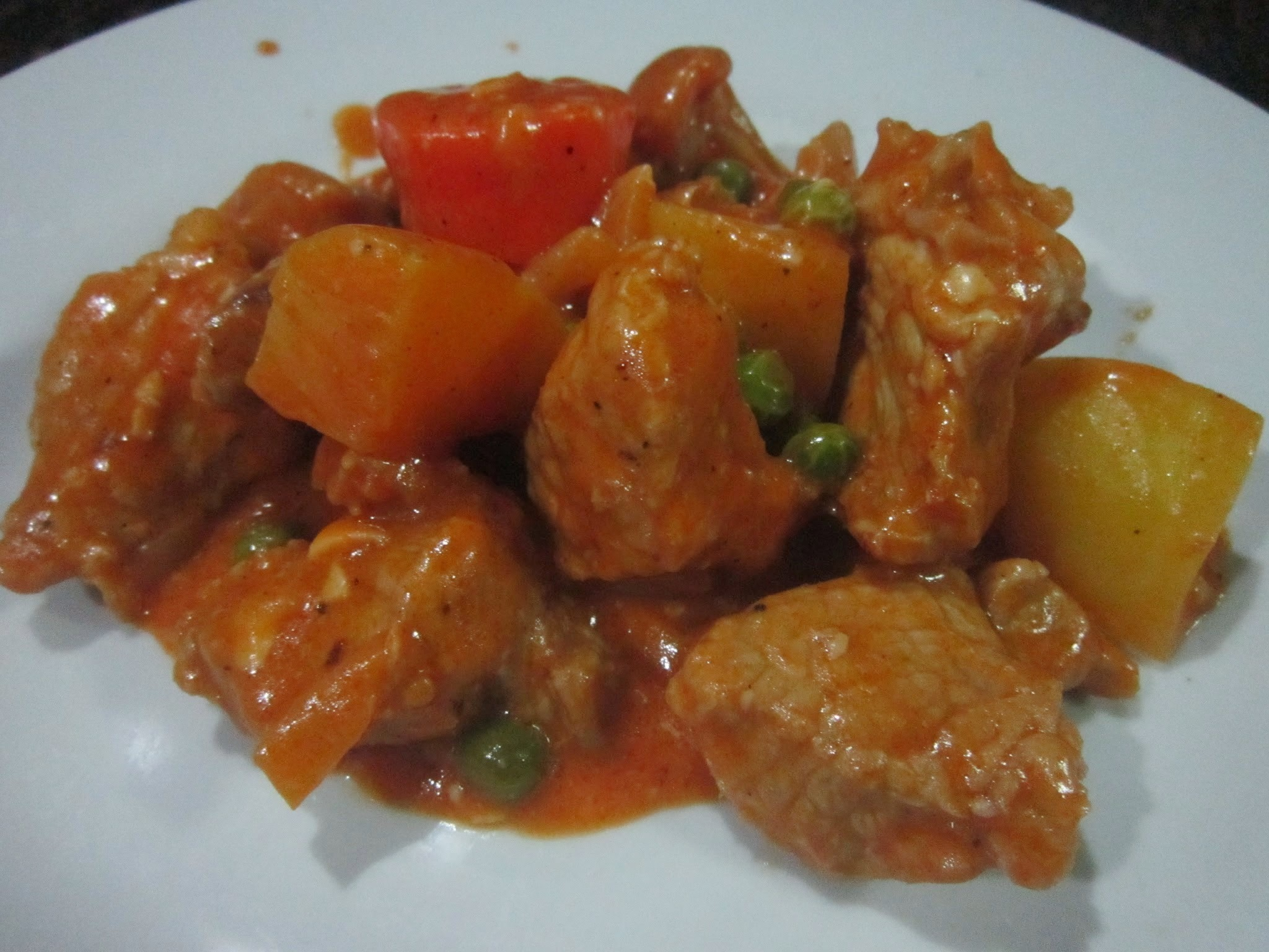 CHEESY PORK AFRITADA