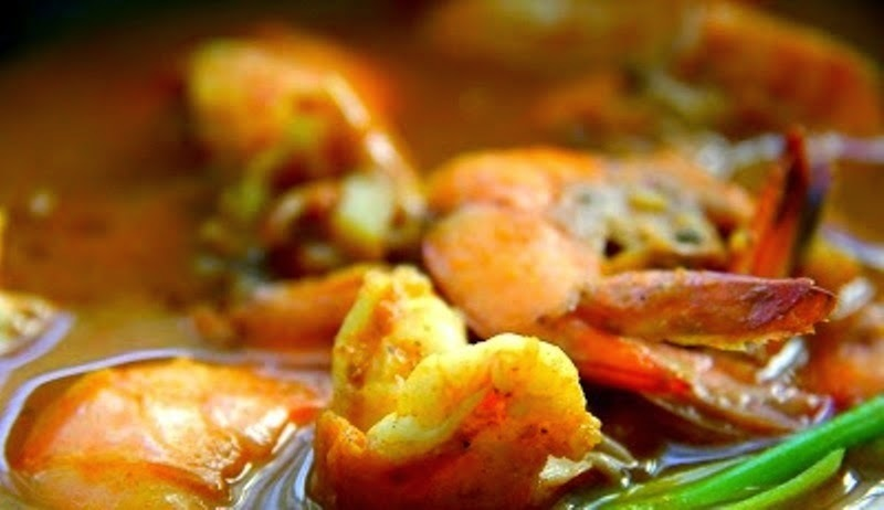 Spicy Seafood Curry #SeafoodRecipesWorldwide