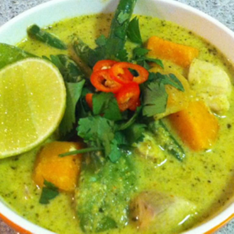 Fish in Green Curry #SeafoodRecipesWorldwide