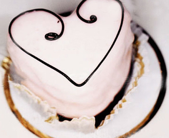 Heart Cake Recipe with Chocolate - Make it
