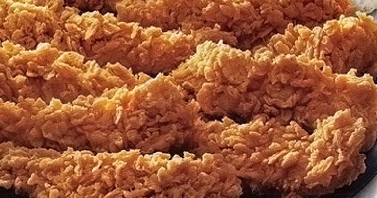 KFC BBQ and Crispy Strips #FamousRestaurantCopycats