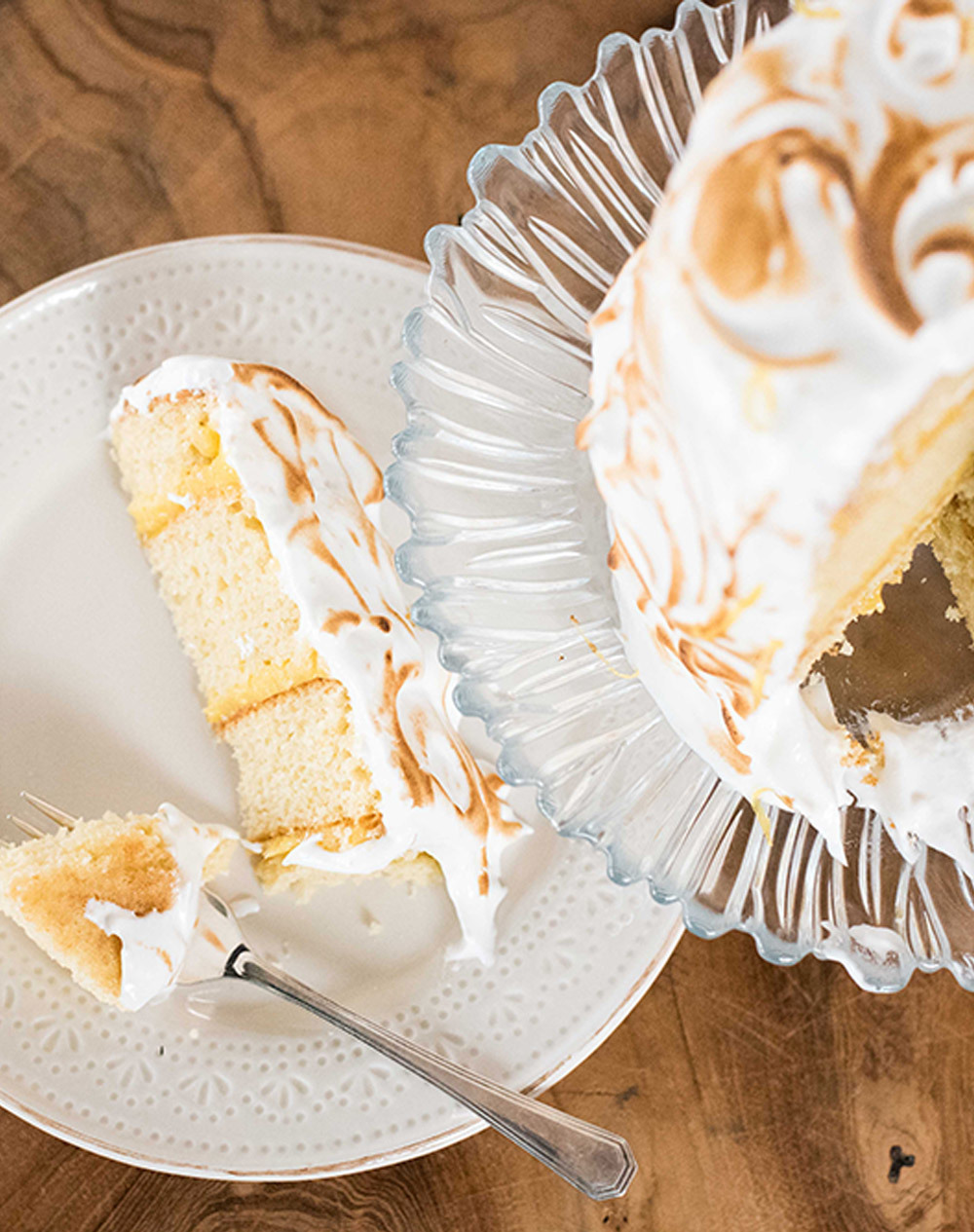Kates' Lemon Meringue Cake