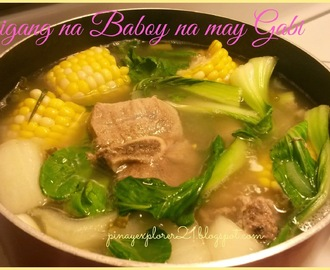 Pork Sinigang na may Gabi Recipe