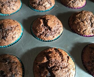 Muffin cioccolatosi di Nigella