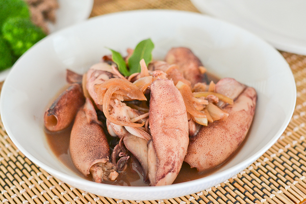 Squid Adobo (Adobong Pusit)