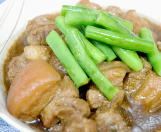 Pineapple Pork with Green Beans