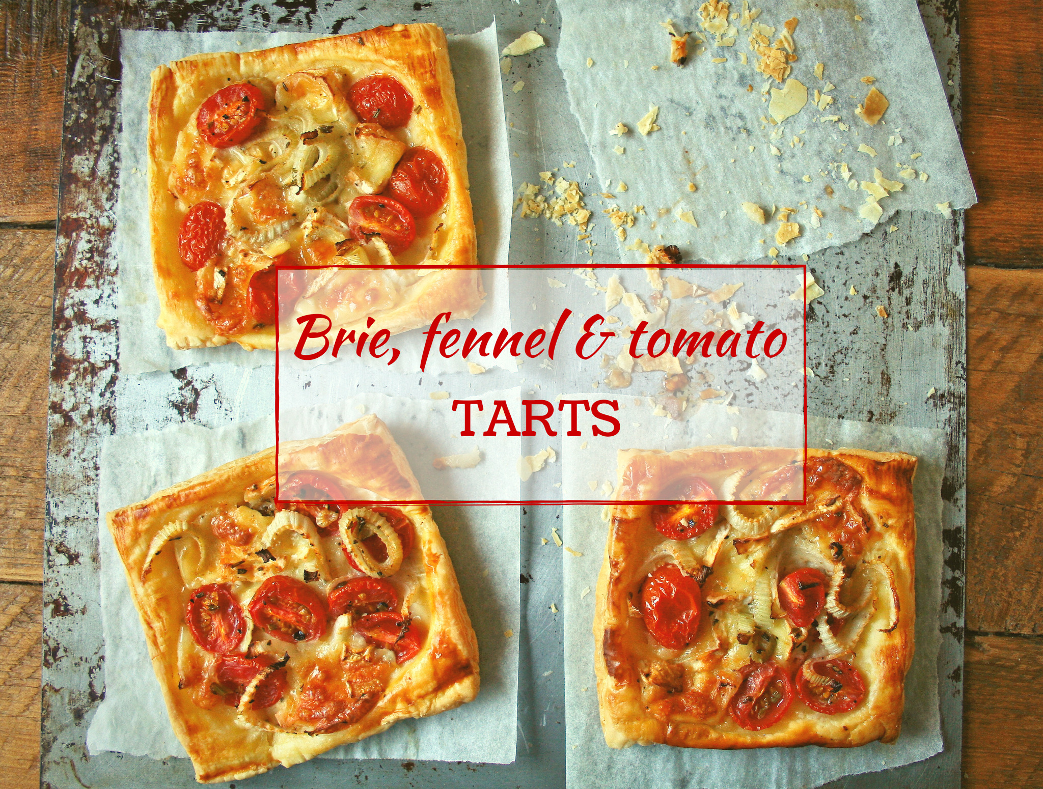 cupcakes-and-couscous wrote a new post, Brie, fennel & tomato tarts, on the site Cupcakes & Couscous