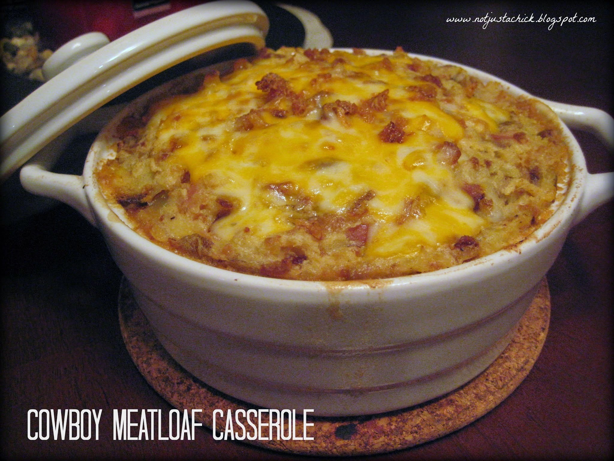Cowboy Meatloaf Casserole and Introducing.....