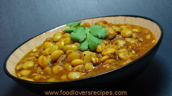INDIAN BROAD BEAN CURRY