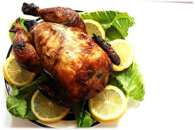 Start With...Roasted Chicken with Lemongrass
