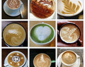 Making of Latte Art #CoffeeWorld