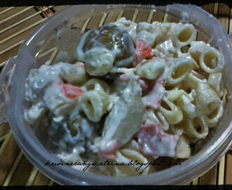 Chicken Macaroni Salad w/ Potato Balls