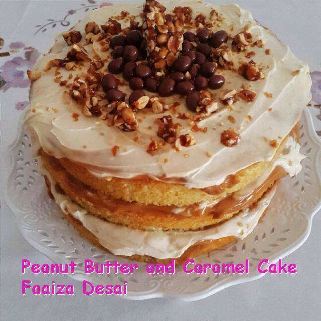 Peanut Butter and Caramel Cake