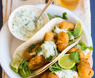 heinstirred wrote a new post, Curry and Beer Battered Fish Tacos, on the site heinstirred
