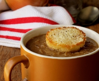 The Muddled Pantry wrote a new post, French Onion Soup, on the site The Muddled Pantry