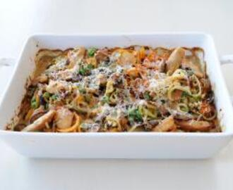 Chicken and Noodle Bake