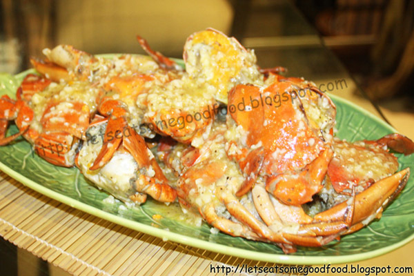 Sumptuous! - Chili Garlic Crab Recipe