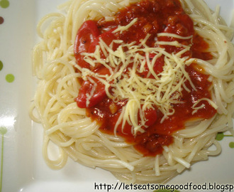 Filipino Spaghetti Recipe